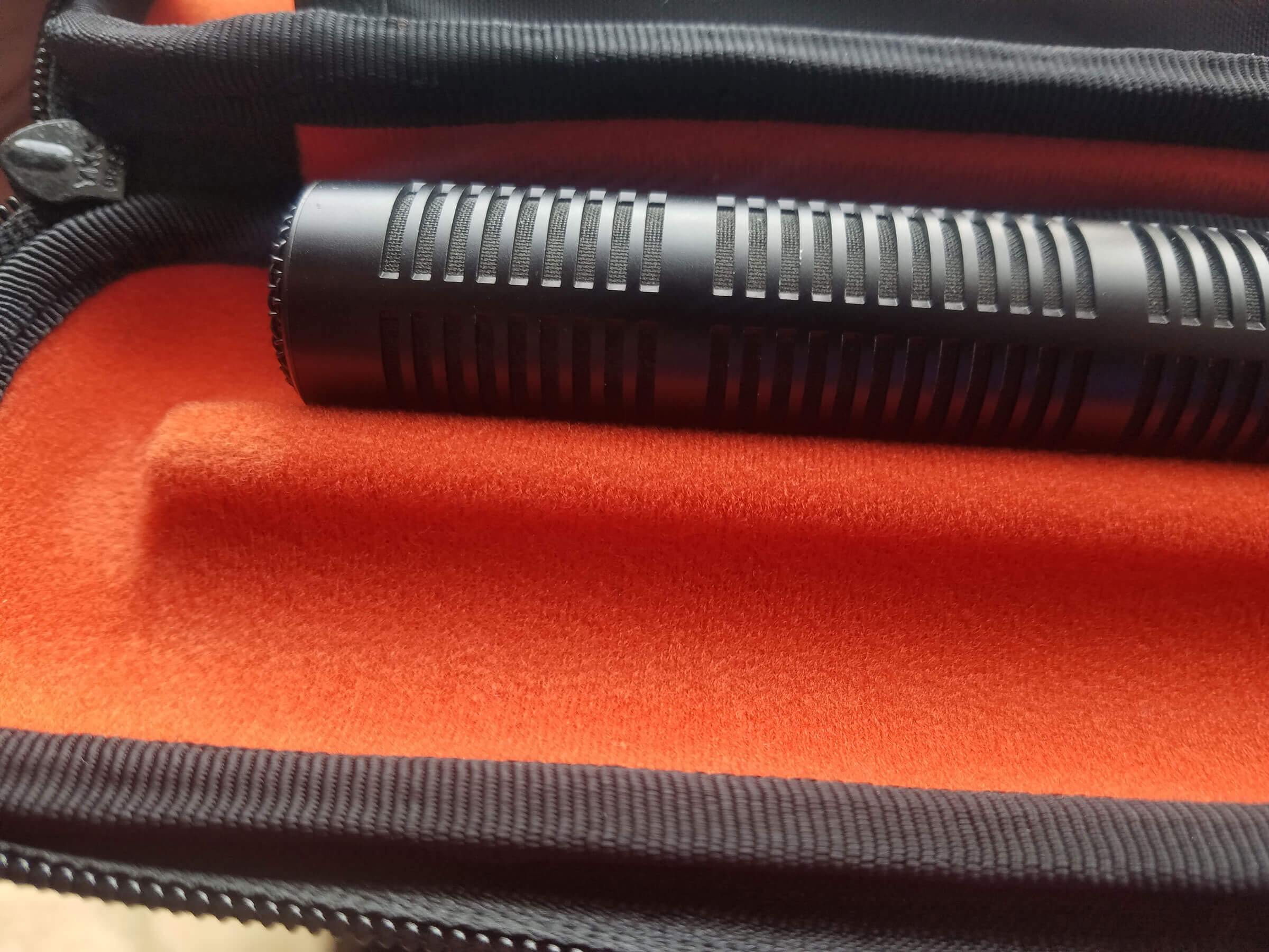 Sennheiser MKH60 in the Stingray Microphone Case (KSTMC1)